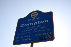 Compton City Sign