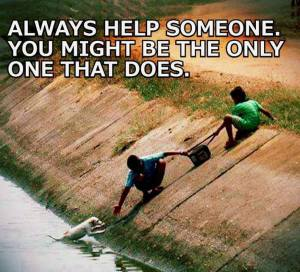 always help