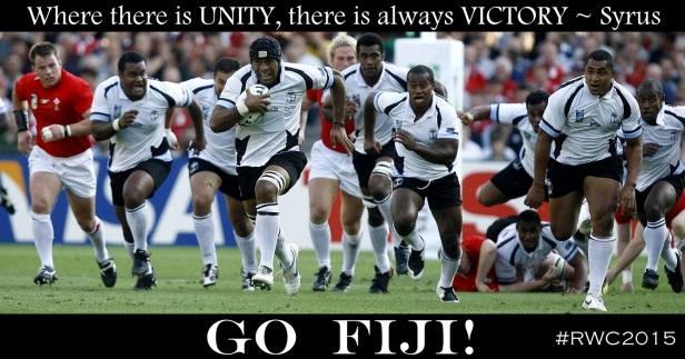 Fiji v England RWC2015
