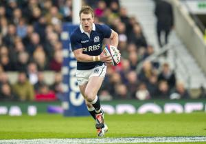 Scotland full back Stuart Hogg