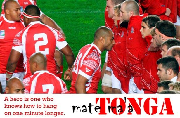 Tonga v Georgia RWC2015